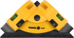 Vorel Laser kątowy liniowy z dwiema liniami 90° do układania płytek (16030)