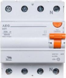 AEG Wyłącznik różnicowoprądowy 4P 40A 0,03A DEFI 404 (608498)