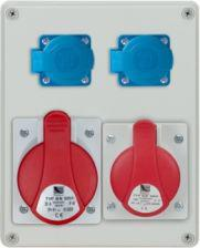 Pawbol Rozdzielnica R-BOX 240 1x32A/5P 1x16A/5P 2x250V IP44 (B.1098)
