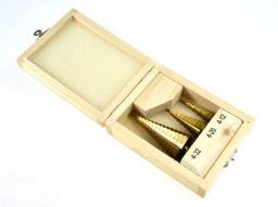 Wiertło stopniowe AWTools 4 - 32mm zestaw 3szt. (AW40998)