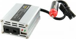 Przetwornica Whitenergy Przetwornica samochodowa DC 12V - AC 230V 100W z USB (06574)