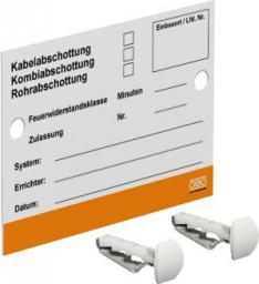 Bettermann Tabliczka identyfikacyjna KS-S DE 100 x 70mm (7205425)