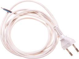 Zamel Przewód przyłączeniowy bez wyłącznika 250cm biały SP-250/2X0,75/-BIA (YNS10000451)