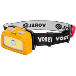 Vorel Latarka czołowa XPE CREE 3W + COB LED 3W (T88678)