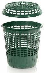Prosperplast Pokrywa kosza zielona 60L (PIPKOSZ-G851)