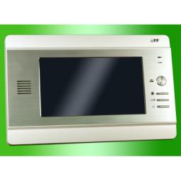 F&F Wideodomofon /monitor 7'' sterowanie bramy, zasilacz 4,5V 19W (MK-04W)