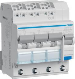 Hager Polo Wyłącznik różnicowonadprądowy 3+N B 16A 0,03A Typ A 6kA RCBO (ADZ316D)