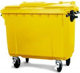 Otto Pojemnik na śmieci żółty 1100L (POJ 1100 ŻÓŁ)