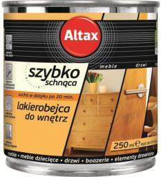 ALTAX Lakierobejca szybkoschnąca do wnętrz palisander 0.25L
