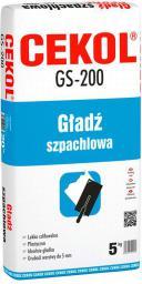 Cekol Gładź szpachlowa GS 200 5kg