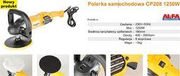 Alfa ALFA POLERKA SAMOCHODOWA 1250W /CP208 CP208 - CP208