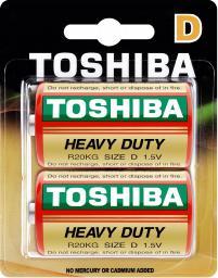 Toshiba Bateria Heavy Duty D / R20 2szt.