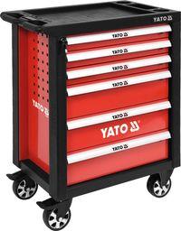 Wózek narzędziowy Yato Szafka warsztatowa 6-szuflad 975 x 765 x 465 mm (YT-55299)
