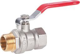 Perfexim Zawór kulowy wodny WZ DN15 rączka wzmocniony PHA-003 G1/2 (00-003-0150-000)