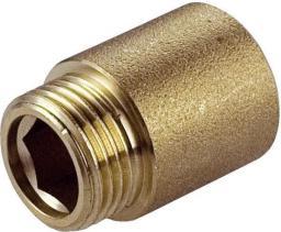 """Perfexim Przedłużka mosiężna GW - GZ 3/4"""" x 10mm (07-220-2010-000)"""