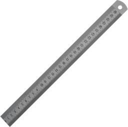 GIMEX Liniał półsztywny 150 x 19 x 1mm Inox (214.181)