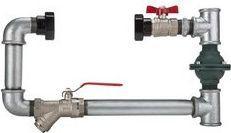 Invena Konsola pozioma do pompy 25mm (CP-00-000)