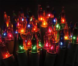 Lampki choinkowe Bulinex na kabel kolorowy 100szt. (30-171)