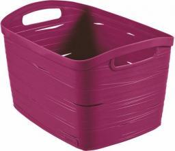 Kosz na pranie Curver Koszyk Ribbon L fioletowy (221200)