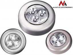 Maclean Lampa samoprzylepna 3xLED Maclean Energy MCE01 na baterie 3xAAA  (24548)