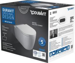 Miska WC Duravit ME by Starck Rimless wisząca  (45290900A1)