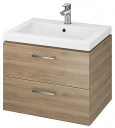 Zestaw szafka z umywalką Cersanit Lara 60cm orzech (S801-148-DSM)