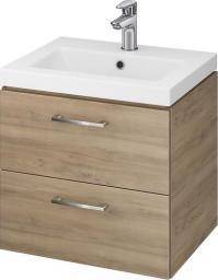 Zestaw szafka z umywalką Cersanit Lara 50cm orzech (5902115729683)