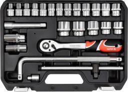 """Yato Zestaw narzędziowy 1/2"""", 25 elementów (YT-38741)"""