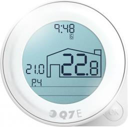Euroster Regulator temperatury EQ7 podtynkowy (EQ7E)