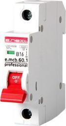 E.NEXT Wyłącznik nadprądowy e.mcb.pro.60 1P B16A 6KA (EX-P041008)