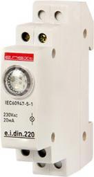 E.NEXT Lampka sygnalizacyjna na szynę DIN zielona (P059002)