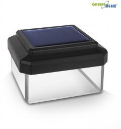 GreenBlue Lampa solarna na słupek LED 60*60 (GB126)