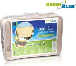 GreenBlue Żagiel ogrodowy zacieniacz UV poliester 4m kwadrat GreenBlue GB504 kremowy hydrofobowa powierzchnia - GB504