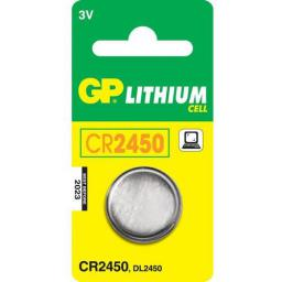 GP Bateria CR2450 610mAh 1szt.