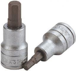 """Teng Tools Nasadka trzpieniowa imbusowa hex 3/8"""" H5,5 x 49,5mm (10207-0406)"""