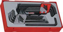 Teng Tools 28-elementowy Zestaw kluczy trzpieniowych sześciokątnych/TX Teng Tools TTHT28 - 128250107