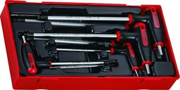 Teng Tools 7-elementowy Zestaw kluczy trzpieniowych, sześciokątnych Teng Tools TTHEX7 / TTHEX7AF - 68930205