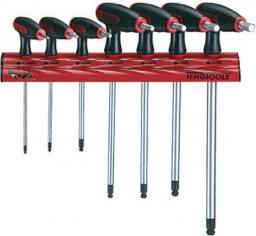 Teng Tools Zestaw kluczy imbusowych hex typ T 2,5 - 8mm z kulką 7szt. (128260106)