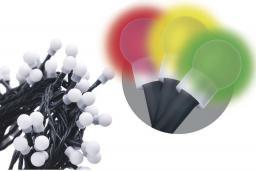Lampki choinkowe Emos Xmas zyk LED na kabel multicolor - RGB 50szt. (ZYK0203)