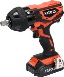 Yato Klucz udarowy akumulatorowy 18V 1x2.0Ah Li-Ion 300Nm z nasadkami (YT-82804)