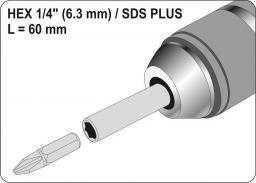 "Yato Adapter SDS PLUS do bitów 1/4"" (YT-04690)"