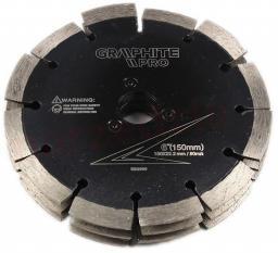 GRAPHITE Potrójna tarcza diamentowa zespolona do 59GP300
