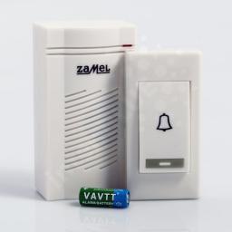 Zamel Dzwonek bezprzewodowy bateryjny CLASSIC zasięg 80m ST-901 (SUN10000388)