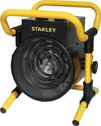 Stanley Okrągła nagrzewnica 3kW, 411m3/h, 30m2.