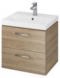 Zestaw szafka z umywalką Cersanit Lara 50cm orzech (S801-155-DSM)