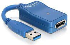 Kabel USB Delock ADAPTER USB 3.0-ESATA (61754)