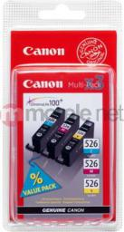 Canon tusze CLI-526 (cyan, magenta, yellow)