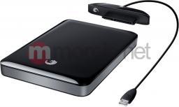 Dysk zewnętrzny Seagate  FreeAgent GoFlex; 2,5'', 500GB, USB 3.0, czarny (STAA500205)