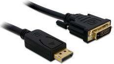 Kabel Delock DVI DisplayPort, 1m, Czarny (82590)
