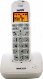 Telefon bezprzewodowy Maxcom MC 6800 Biały